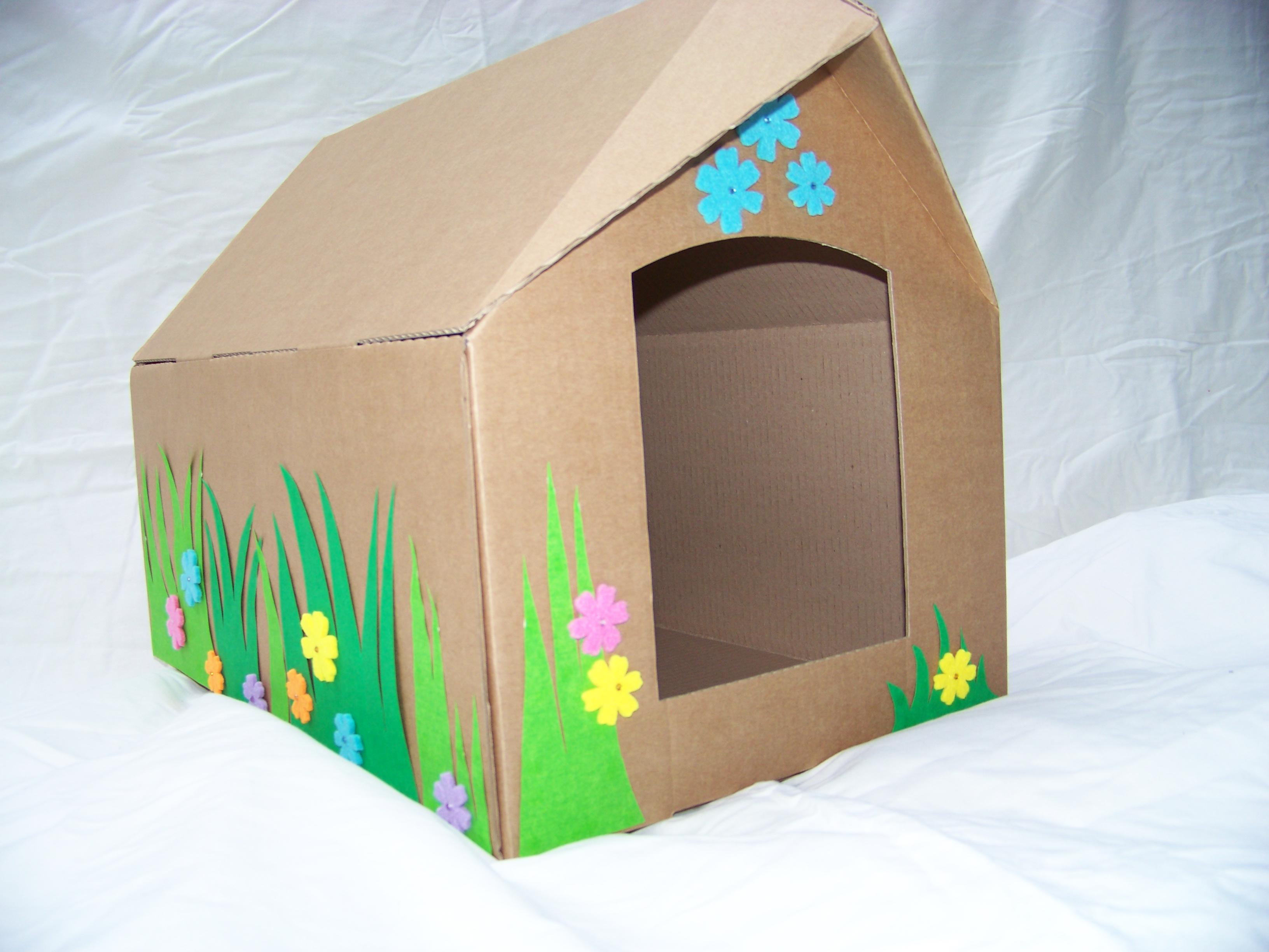Ideal Comment Faire Une Maison En Carton AE21